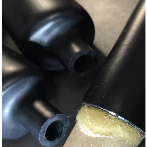 DWT-Medium wall hot-melt  glue heat shrinkable sleeve 1